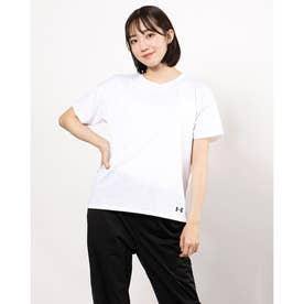 レディース 半袖機能Tシャツ UA Tech Vent Tee 1364941 (ホワイト)