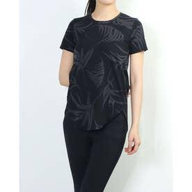 レディース 半袖Tシャツ UA Design Printed Tee 1364219 (ブラック)