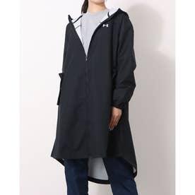 レディース ウインドフルジップ UA Woven Dress 1369408 (ブラック)