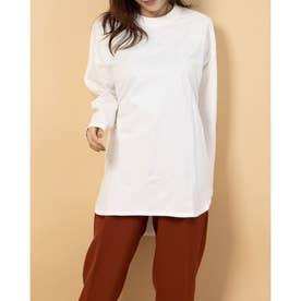 オーガニックコットンロングTシャツ (シロ)