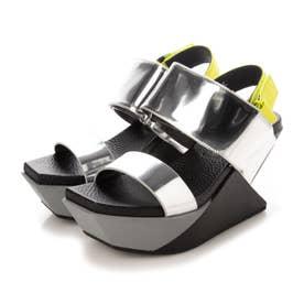 Delta Wedge Sandal (SILVER)