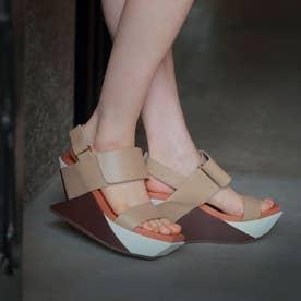 Delta Wedge Sandal (Toffee)