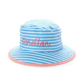 マリン 帽子 BENETTON細ピッチボーダーマリンハット 129580 【返品不可商品】