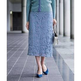 レースタイトスカート (ブルー)