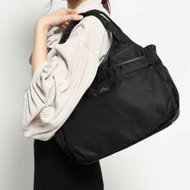 A4サイズナイロン多ポケット2WAYバッグ (ブラック)