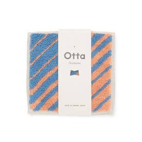 【Otta】ハーフタオルハンカチ (オレンジ系(71))
