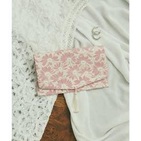 【WEB限定】華やかガーベラ柄ふくさ (ピンク系(65))