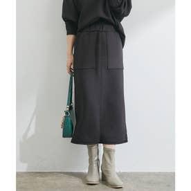 【田中みな実さん着用】【スフレタッチ】ダンボールニットタイトスカート (ブラック(01))
