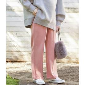 【ViSmommy】裏起毛ストレートパンツ【WEB限定】 (ピンク(63))