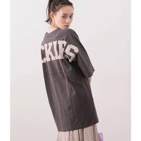 【Dickies×ViS】ビッグロゴプリントTシャツ (スミクロ(05))
