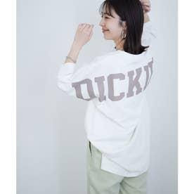 【Dickies×ViS】ビッグロゴプリントTシャツ (ホワイト(10))
