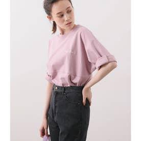 【Dickies×ViS】ビッグロゴプリントTシャツ (ピンク系(65))
