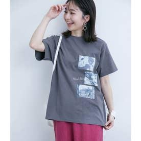 アソートグラフィックTシャツ (チャコール(06))