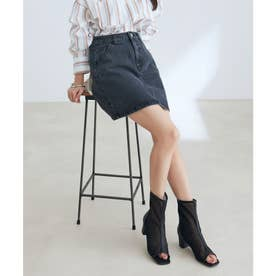 vis‐`a‐vis 【vis‐`a‐vis】デニム&ツイルミニスカート (スミクロ)