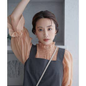 【高橋愛さんコラボ】【セットアップ対応】ビスチェトップス (スミクロ(05))