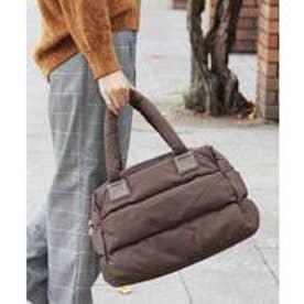 《Lサイズ》マザーズバッグ ナイロン トートバッグ A4 2wayショルダーバッグ (モカ)
