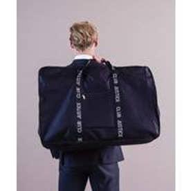 収納量86L/バッカブル ボストンバッグ メンズ レディースビッグトートバッグ 折りたたみ 旅行バッグ アウトドア (BLACK)