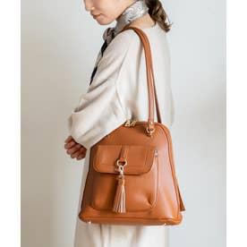 リュックサック ショルダーバッグ レディースバッグ 2wayバッグ 大容量 通勤通勤通学バッグ (CAMEL)