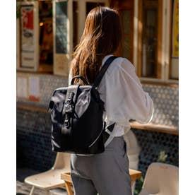 リュックサック 大容量 レディース・メンズ A4 高密度ナイロンバックパック ユニセックス 通勤通学 ビッグリュック (BLACK)