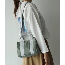 トートバッグ 通勤バッグ ミニバッグ ラメショルダー 斜めがけ 2wayショルダーバッグ レオパード 弁当バッグ ワンマイルバッグ (LEOGREEN)