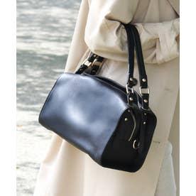 ハンドバッグ  本革バッグ レザーバッグ  ショルダーバッグ 斜めがけ 通勤バッグ 2way ハンドバック (BLACK)