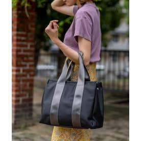 トートバッグ A4 レディースショルダーバッグ 通勤 通学 お仕事バッグ お弁当バッグ カバー付き マザーズバッグ (BLACK)