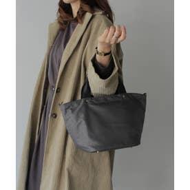 本革×ナイロントートバッグ 弁当 本革ハンドル ミニバッグ 斜めがけ 2wayショルダーバッグ 通勤バッグ (LEOCHL)
