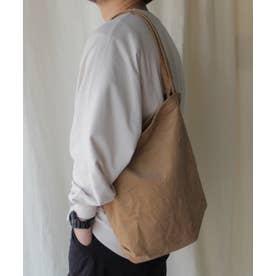 コーデュロイバッグ レディーストートバッグ 肩掛け 斜めがけ スエード 通勤 通学 サブバッグ ワンマイルバッグ (BEIGE)