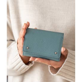 財布 本革 二つ折り/三つ折り ミニウォレット新春 ミニバッグ用 コンパクトレザー財布 (SAXE)