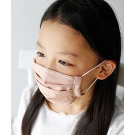 【ハンドメイド】子供マスク 繰り返し使える 日本製 洗えるマスク キッズ Kids フィルターポケット付き 手作り【返品不可商品】 (APINK)