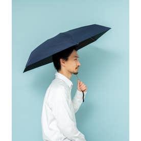 【UV遮蔽率100%・遮光率100%】世界最小級 5段ミニマイクロ傘 《晴雨兼用日傘》UVカット 日傘男子 紫外線対策 マスク日焼け 父 の 日 (NAVY