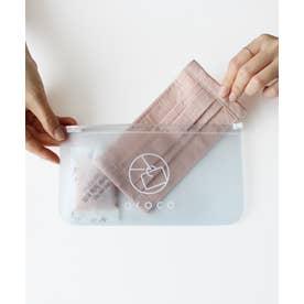 【返品不可商品】《除湿・脱臭効果でいつも清潔》マスクケース 持ち運び 韓国で話題 PVC(SGS認証済) (CLEAR)