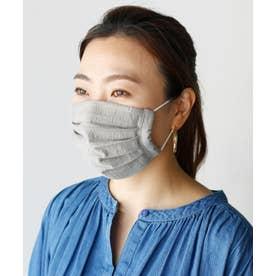 【ハンドメイド】洗えるマスク 日本製 二重 プリーツ 3D 立体 フィルターポケット付き ガーゼ 繰り返し使える 手作り マスク 【返品不可商品】