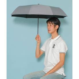 《晴雨兼用日傘》折りたたみ 完全遮光 55cm 遮光率100%・UV遮蔽率99.9%以上 軽い310g 梅雨 紫外線対策 マスク日焼け対策 (GRAY)
