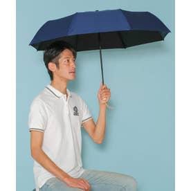 《晴雨兼用日傘》折りたたみ 完全遮光 55cm 遮光率100%・UV遮蔽率99.9%以上 軽い310g 梅雨 紫外線対策 マスク日焼け対策 (NAVY)