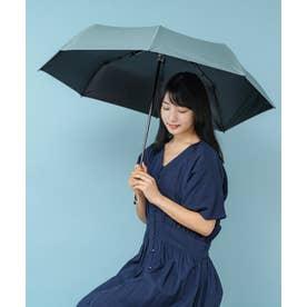《晴雨兼用日傘》折りたたみ 完全遮光 55cm 遮光率100%・UV遮蔽率99.9%以上 軽い310g 梅雨 紫外線対策 マスク日焼け対策 (OLIVE)