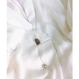 プレート&ボールY字ネックレス レディース ネックレス チェーン ジュエリー アクセサリー プレゼント (GOLD)