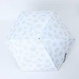 晴雨兼用5段ミニ折りたたみ傘 (FGRAYBEIGE)