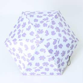 晴雨兼用5段ミニ折りたたみ傘 (FPURPLE)