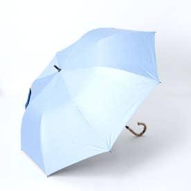 晴雨兼用ショートワイド傘(ダンガリープリント) (BLUE)
