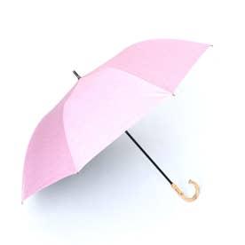 晴雨兼用ショートワイド傘(ダンガリープリント) (PINK)
