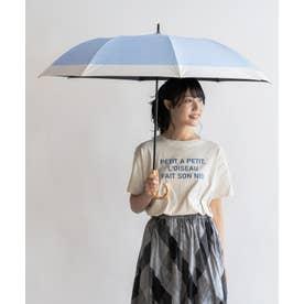 晴雨兼用ショートワイド傘(コンビダンガリープリント) (CBLUE)