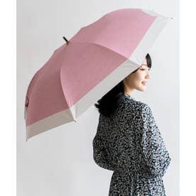 晴雨兼用ショートワイド傘(コンビダンガリープリント) (CPINK)