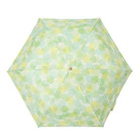 完全遮光 日傘 UV遮蔽率100%・遮光率100% 晴雨兼用 折りたたみ花柄傘 プレゼント (DGREEN)