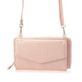 お財布ポシェット (ピンク)