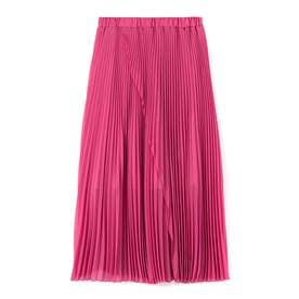 プリーツスカート (ピンク)