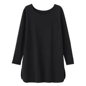 【吸湿発熱】あったかレイヤード用シャツ裾インナー (ブラック)