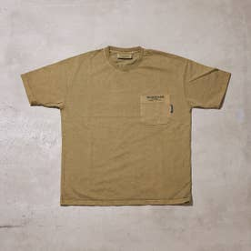 PIGMENT DYED T-SHIRT (OLIVE)