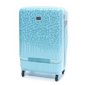 フロントポケット付きハードキャリーL(スーツケース) (ミント)