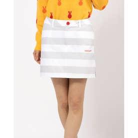 サーカスストライプst スカート (グレー)